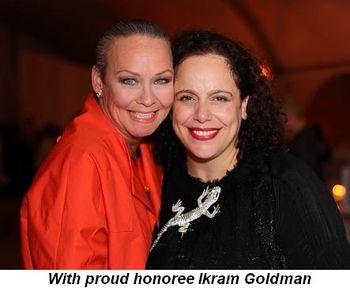 Blog 4 - With proud honoree Ikram Goldman