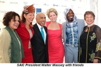 Blog 5 - SAIC President Walter Massey and friends