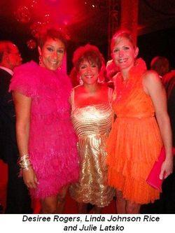 Blog 2 - Desiree Rogers, Linda Johnson Rice and Julie Latsko