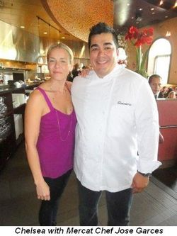 Blog 1 - Chelsea with Mercat Chef Jose Garces
