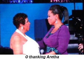 Blog 30 - O thanking Aretha