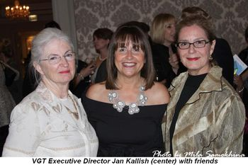 Blog 4 - VGT Executive Director Jan Kallish (center) with friends
