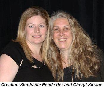 Blog 8 - Co-chair Stephanie Pendexter and Cheryl Sloane