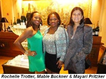 Blog 5 - Rochelle Trotter, Mable Buckner and Mayari Pritzker