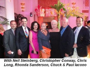 Blog 9 - With Neil Steinberg, Christopher Conway, Chris Long, Rhonda Sanderson, Chuck and Paul Iacono