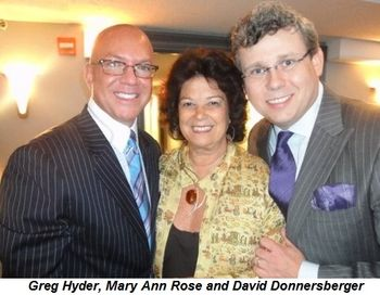 Greg Hyder, Mary Ann Rose and David Donnersberger