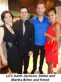 Blog 5 - LV's Garth Jackson, Stefan and Martha Billen and friend