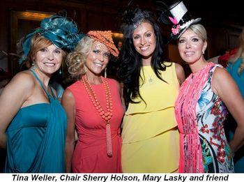 Blog 1 - Tina Weller, Chair Sherry Holson, Mary Lasky and friend