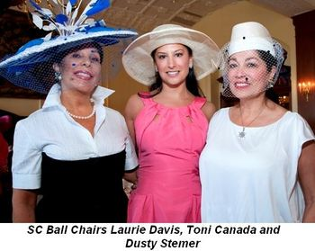 Blog 2 - SC Ball Chairs Laurie Davis, Toni Canada and Dusty Stemer
