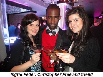 Blog 3 - Ingrid Feder, Christopher Free and friend