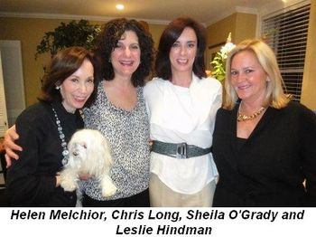 Blog 1 - Helen Melchior, Chris Long, Sheila O'Grady and Leslie Hindman