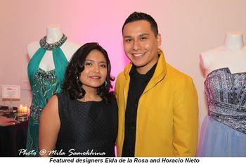 Blog 7 - Featured designers Elda de la Rosa and Horacio Nieto-
