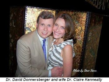 Blog 2 - Dr. David Donnersberger and wife Dr. Claire Kenneally