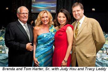 Blog 1 - Brenda and Tom Harter Sr., Judy Hsu and hubby Tracy Leddy