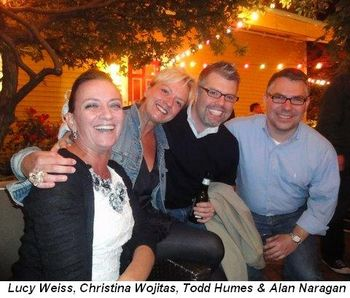 Blog 1 - Lucy Weiss, Christina Wojitas, Todd Humes and Alan Naragan