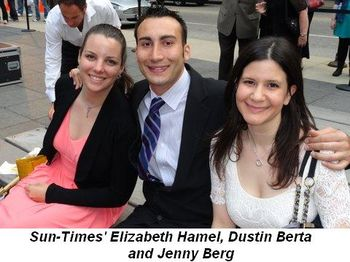 Blog 7 - Sun-Times' Elizabeth Hamel, Dustin Berta and Jenny Berg