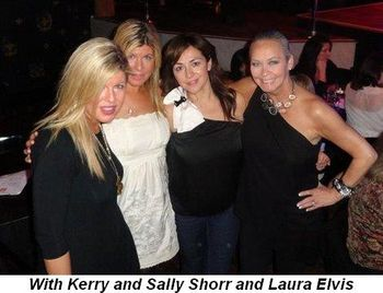 Blog 2 - With Kerry and Sally Shorr and Laura Elvis at show