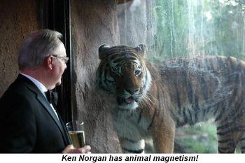 Blog 5 - Ken Norgan has animal magnetism!