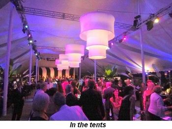 Blog 20 - In the tents