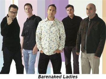 Blog 2 - Barenaked Ladies