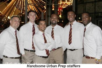 Blog 7 - Handsome Urban Prep staffers