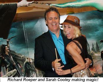Blog 15 - Richard Roeper and Sarah Cooley making magic!