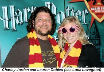 Blog 16 - Charley Jordan and Lauren Dobies (aka Luna Lovegood)