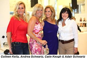 Colleen Kelly, Andrea Schwartz, Catie Keogh and Adair Schwartz