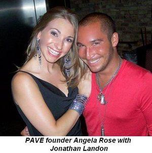 Blog 1 - PAVE founder Angela Rose with Jonathan Landon