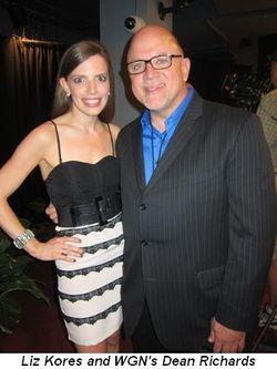 Blog 9 - Liz Kores and WGN's Dean Richards