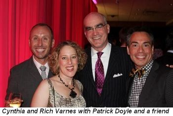 Blog 17 - Cynthia and Rich Varnes with Patrick Doyle and friend