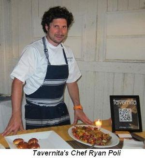 Blog 9 - Tavernita's Chef Ryan Poli