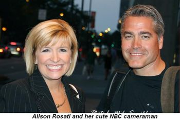 Blog 10 - Alison Rosati and her cute NBC cameraman