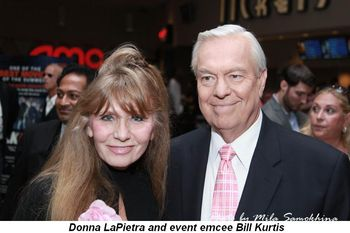 Blog 4 - Donna LaPietra and event emcee Bill Kurtis