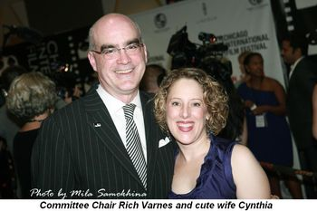 Blog 5 - Committee Chair Rich Varnes and cute wife Cynthia