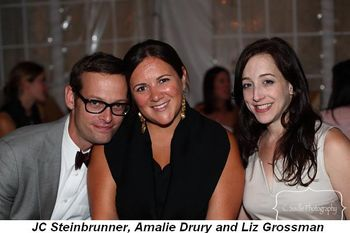 Blog 5 - JC Steinbrunner, his sweetie Amalie Drury and Liz Grossman