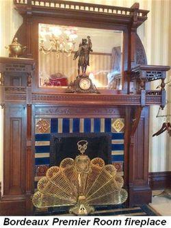 Blog 6 - Bordeaux Premier Room fireplace