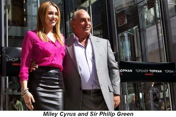 Blog 1 - Miley Cyrus and Sir Philip Green