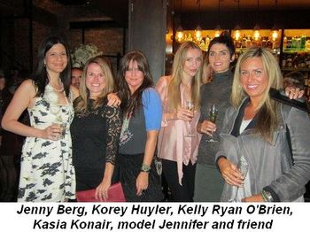 Blog 4 - Jenny Berg, Korey Huyler, Kelly Ryan O'Brien, Kasia Koniar, model Jennifer and friend