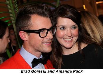 Blog 2 - Brad Goreski and Amanda Puck