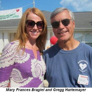 Blog 1 - Mary Frances Bragiel and Gregg Hartemayer