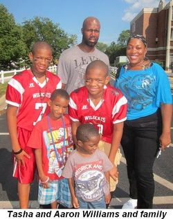 Blog 5 - Tasha and Aaron Williams and family