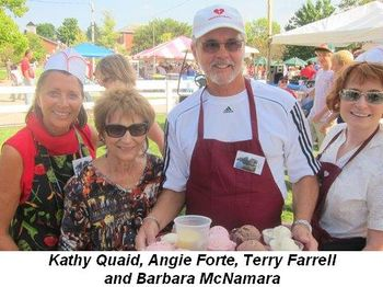 Blog 13 - Kathy Quaid, Angie Forte, Terry Farrell and Barbara
