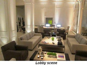 Blog 4 - Lobby scene
