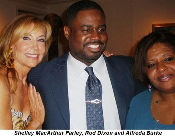 Shelley MacArthur Farley, Rod Dixon and Alfreda Burke