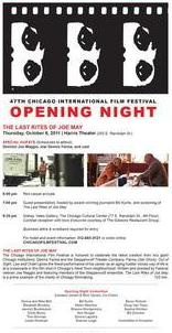 Film Fest Opening Night Invite
