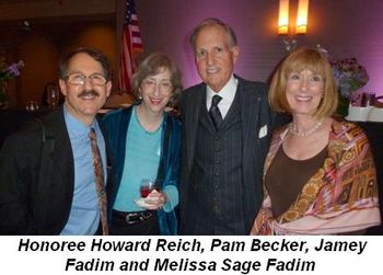 Blog 2 - Honoree Howard Reich, Pam Becker, Jamey Fadim and Melissa Sage Fadim