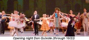 Joffrey Don Quixote Opening Night