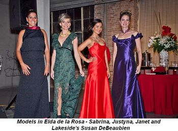Blog 4 - Models in Elda de la Rosa, Sabrina, Justyna, Janet and Lakeside's Susan DeBeaubien