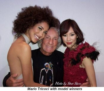 Blog 6 - Mario Tricoci with model winners